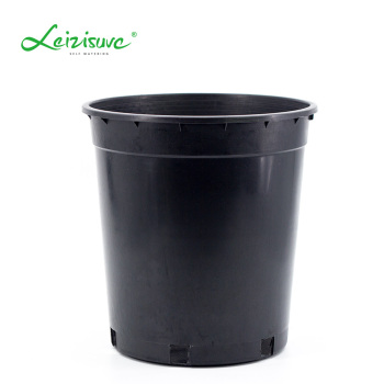 3 Gallon Black Plastic Tree Pots Nursery Planting Pot Whole