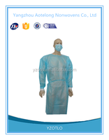 For free sample! Hot SALE Sterile Disposable patient surgical gown , hospital medical gown , Disposable operating gown