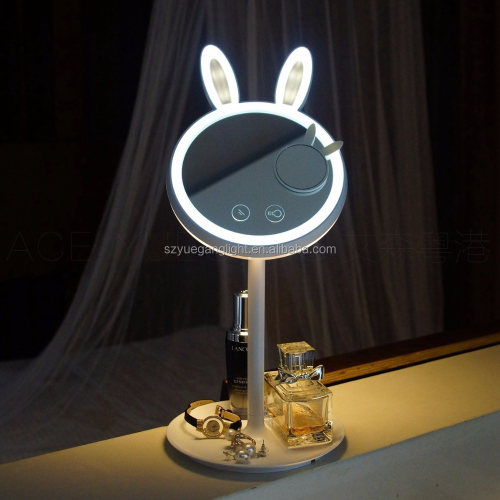 Table mirror lamp Professional LED 7X magnify makeup mirror light lamp