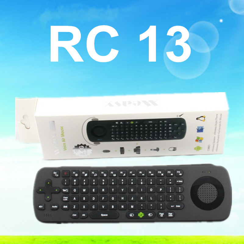 RC13 wireless air mouse RC13 fly mouse RC11 RC12 T2 T3 air mouse for android tv box