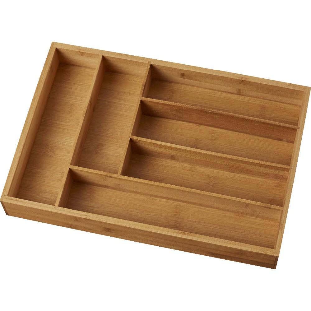 High Quality Bamboo Silverware Trays Organizers Drawer 2