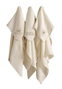 Hug Me Bear Muslin Squares - pack of 3 by Natures Purest