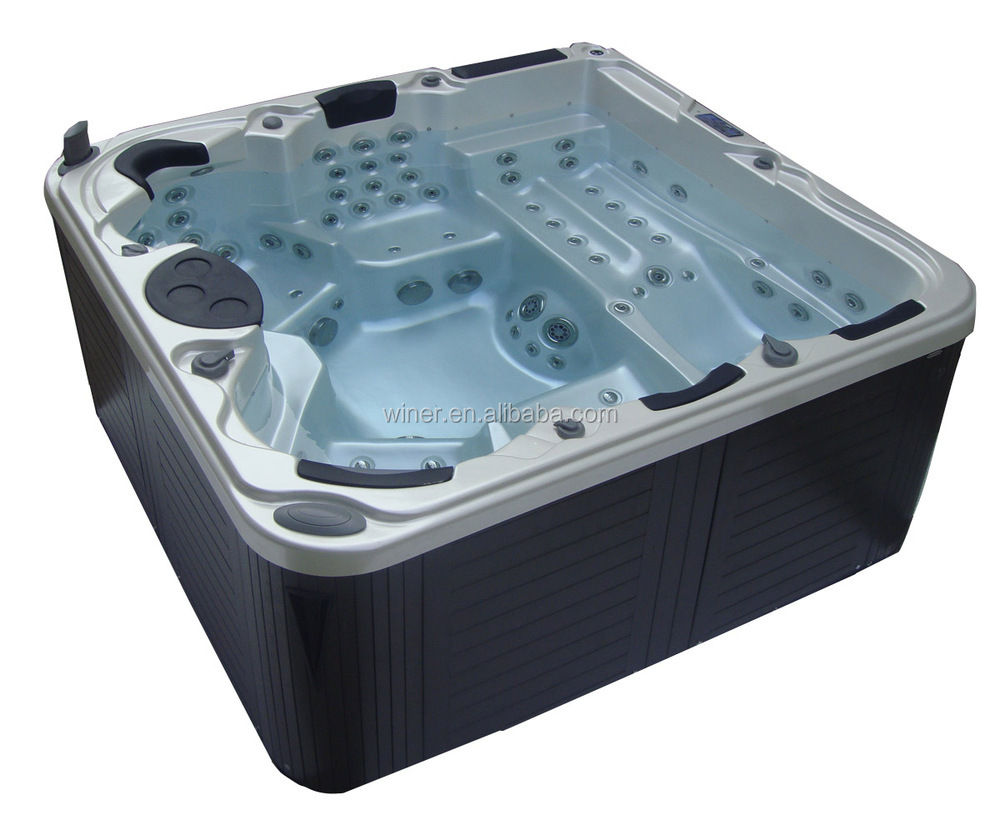 Balboa Hot Tub >> 2019 Freestanding Massage Acrylic Balboa Hot Tub 5 Persons Outdoor