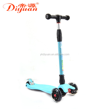 Frog kick scooter Baby Stroller aluminum Alloy material 3 wheel e scooter