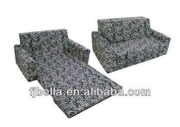 Kids Flip Sofa Foam Couch Folding Bed