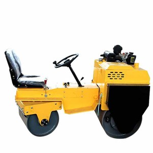 Hydraulic road roller / hand roller compactor / 1 ton compactor vibratory roller