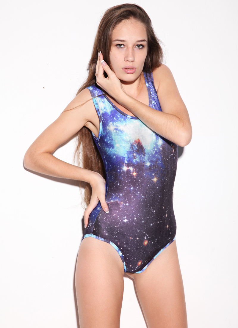Get Quotations · ONE PIECE BLACK MILK GALAXY 2015 Women Bathing Suit  Monokin Bodysuit One Piece Swimsuit Swim Suit a1b32123a