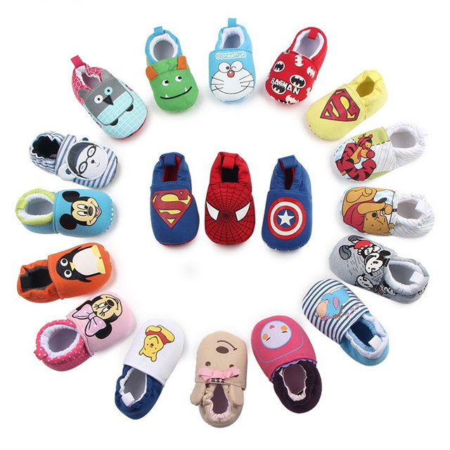 New Model Lovely Newborn Animal Pattern Winter Warm Baby Shoes For 0-6M
