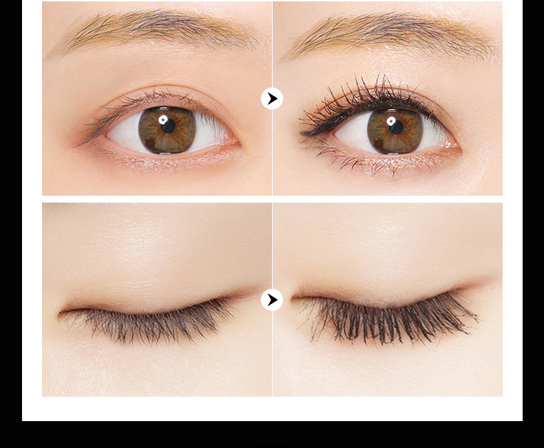Images Volume Express 2 in 1 false eyelash Mascara 3D Fiber Makeup eyslash Lengthening mascara