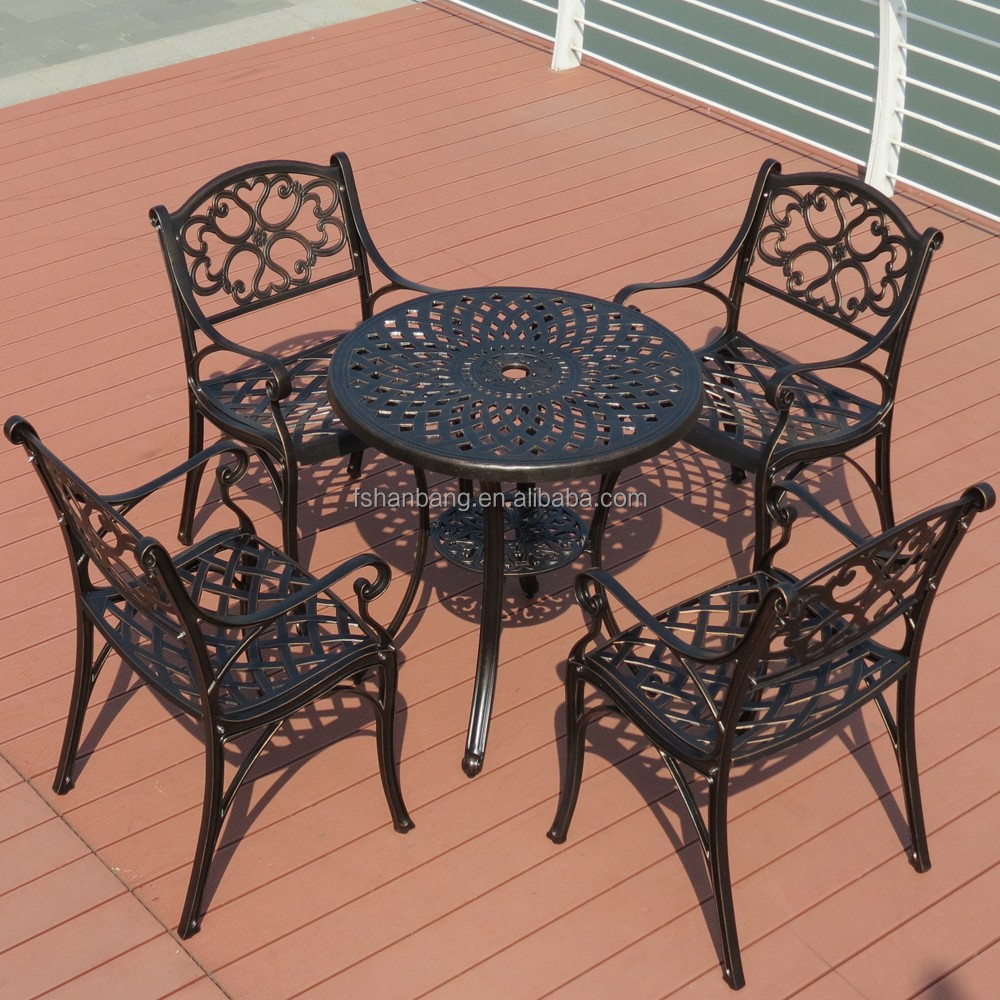 Cast Iron Outdoor Dining Set Part - 48: Royal Garden Outdoor Furniture, Royal Garden Outdoor Furniture Suppliers  And Manufacturers At Alibaba.com