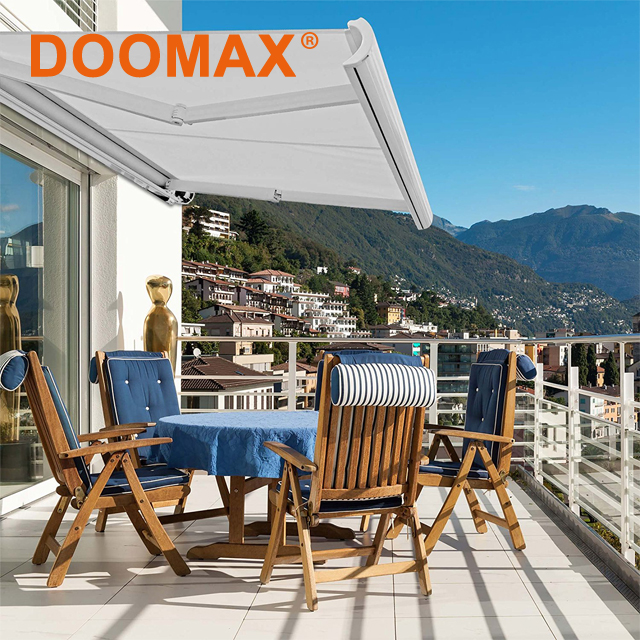 Popular Durable Clear Sliding Glass Door Awning