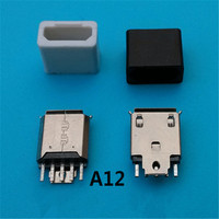 Hot sell micro usb jack micro usb connector micro usb b type female connector