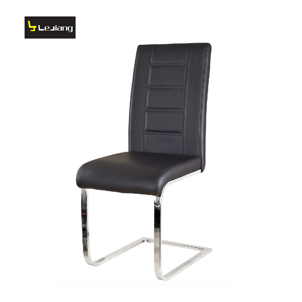 Modern black pattern high quality stable dinette chairs