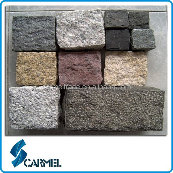 chinesischen multicolor granit pflastersteine f r einfahrt. Black Bedroom Furniture Sets. Home Design Ideas