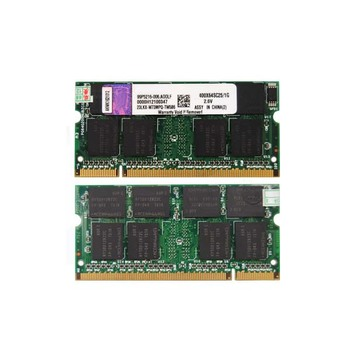 Computer hardware software ETT chips ddr 1gb ram memory for laptop