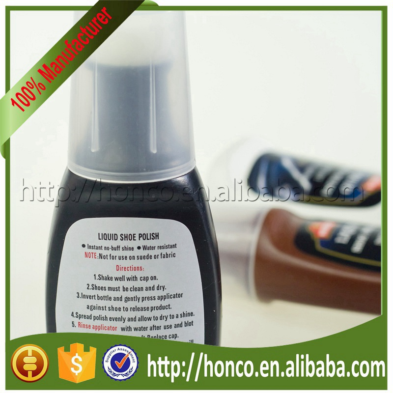 Shoe Care liquid shoe wax for leather cleaning HYLP-192