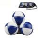 Promotional Juggling play ball PU Leather 8 panel Juggling Balls