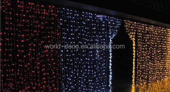 Rain Drop Curtain Lights / Waterfall Festival Light / Led Falling ...