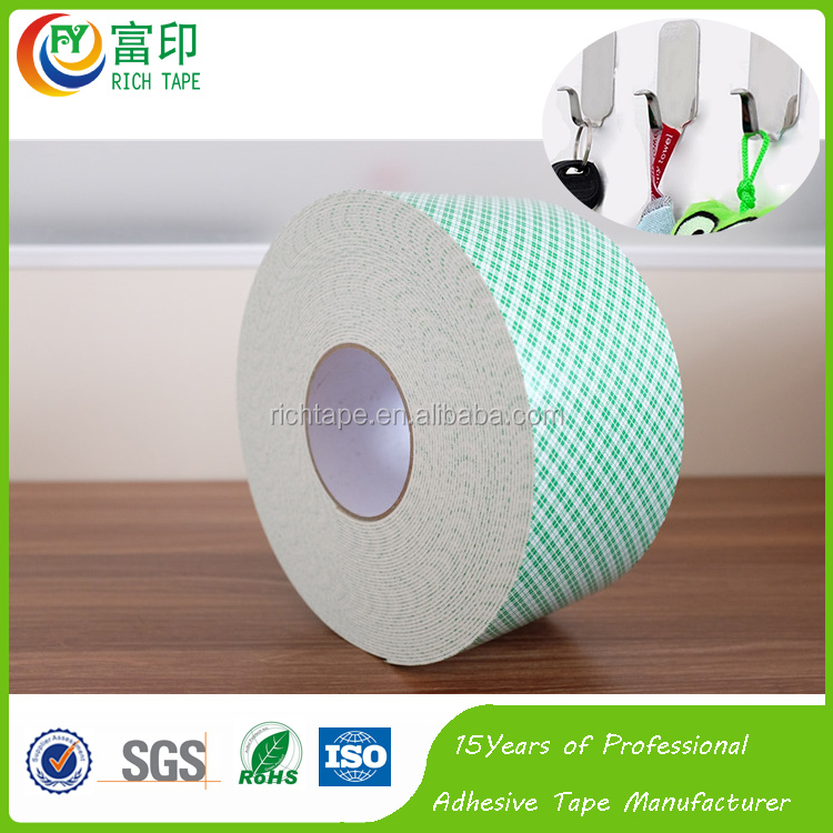 Manufacturer price 100% real 3M Hook & eye Tape for self adhesive holding sticker