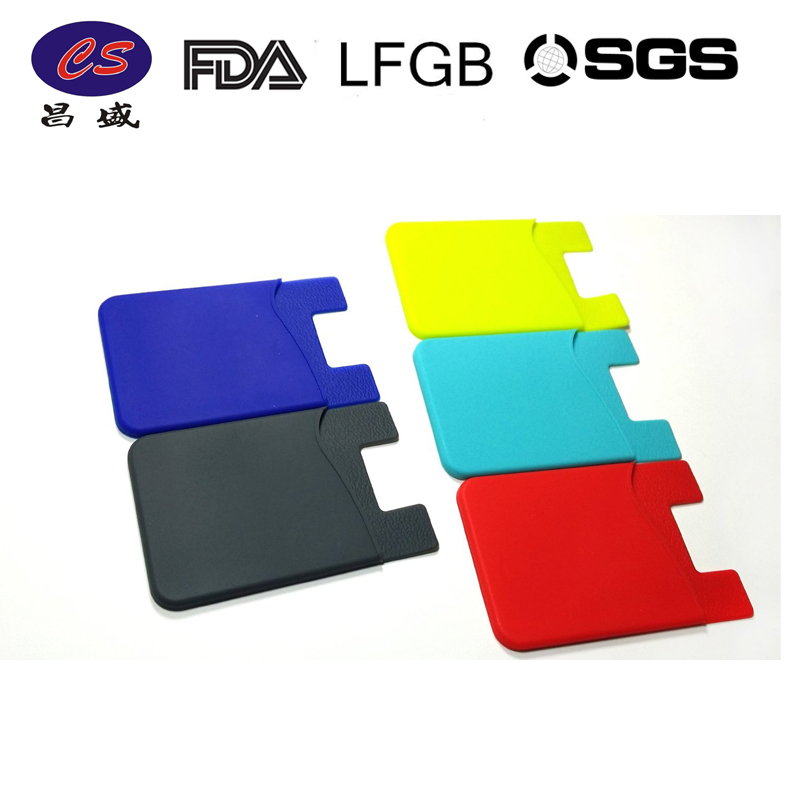 New Product Silicone Mobile Phone Card Holder / Cell Phone ...