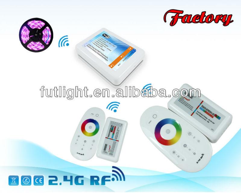 Nieuwste Rgb Led Strip Wifi Verlichting 2.4g Rf Draadloze ...