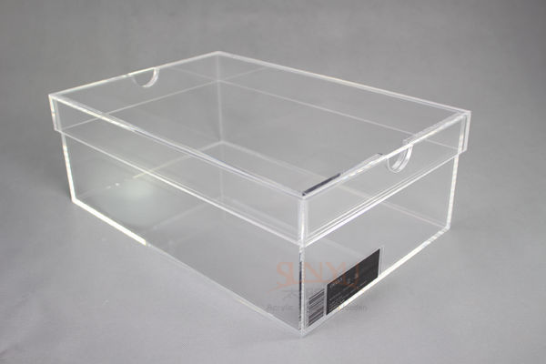 custom transparent acrylic shoes box with lid manufacturers buy custom acrylic shoes box. Black Bedroom Furniture Sets. Home Design Ideas
