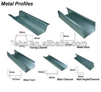 galvanized lgs metal stud profile buy metal stud profile dry wall