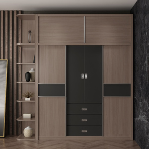 Luxury L Shaped Bedroom Wardrobe Designs,Plywood Double Door Wardrobe Design