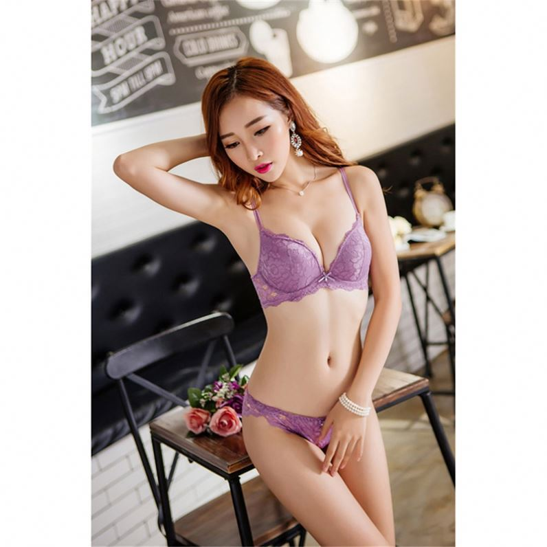 22067a2626 New Anti Bacterial Chinese Wholesale Ladies Sexy Net Bra Set - Buy ...