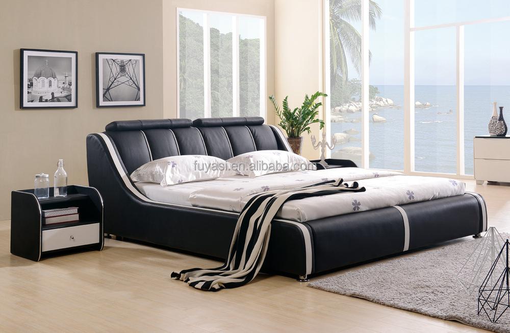 Volwassen loft bed king size bed nachtkastje nachtkastje meubels moderne bed iraanse home decor - Volwassen slaapkamer stijl ...