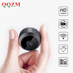 2019 Hot Selling Mini Spy Wifi IP Camera with 5M Night Vision 150 Wide Angle 2Mp 1080P Hidden Magnetic Base Battery Powered