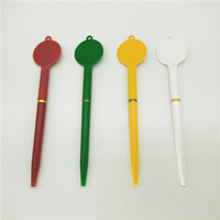 Promotional stylos a bille retractable plastic ball pen