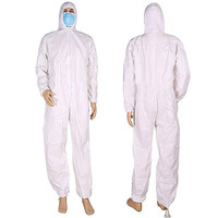Disposable SMS Coveralls full sleeve /Workwear Overall/Protective Clothing Microporous
