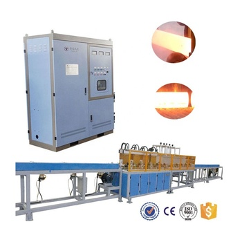 Medium frequency induction quenching equipment for long shaft