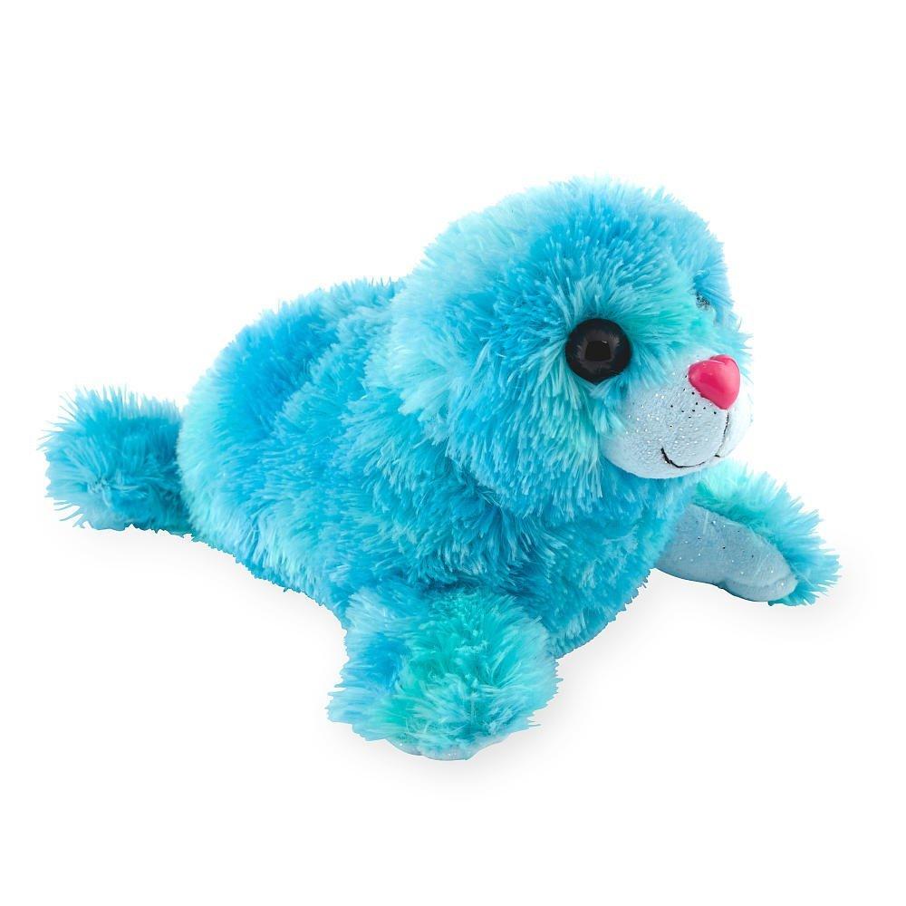 Toys R Us Plush Blue Sparkle 12 inch Sea Seal
