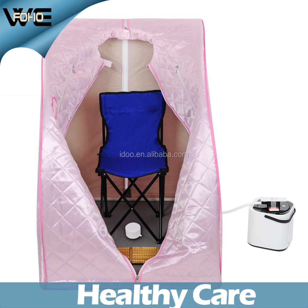 CE and ROHS certificate easy to use healthy Portable Home Steam Sauna Room