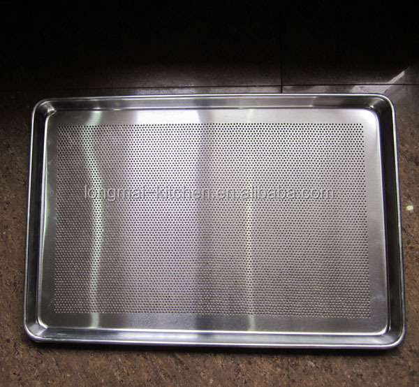 2017 LM - BT02 / Best selling 1.0 mm perforated bun baking tray