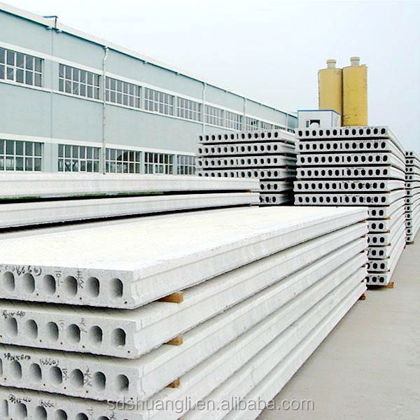Precast Hollow Core Slab : Precast concrete mold hollow core slab machine for