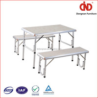 The best selling professional Quick Delivery Low MOQ 4 persons metal folding table