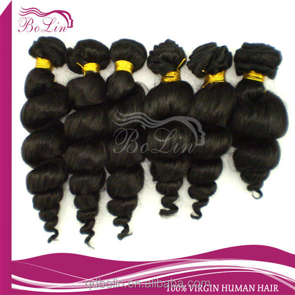 6a grade top sell 100% malaysian virgin remy spring curl hair accept paypal