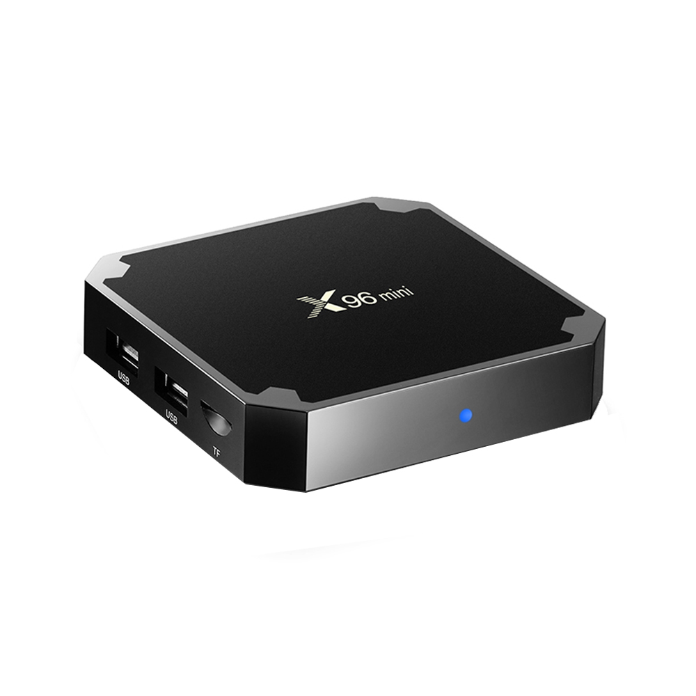 Nuevo Chip Ott TV Box X96 mini Amlogic S905W caja inteligente Android 7,1 4K Full HD reproductor de medios
