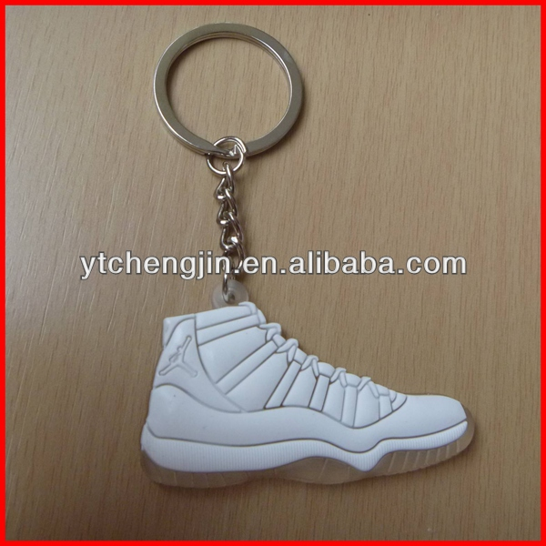 All White Air jordan retro keychain AJ11 keychain
