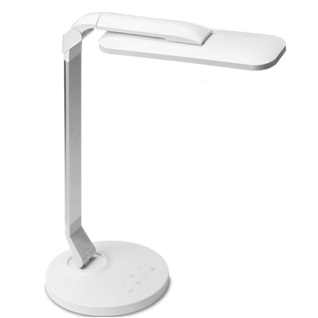 TENDA.FEI LED Table Lamp Eye Protection Rotation Lamp Head Touch Aluminum Alloy USB Frosted Student Dormitory