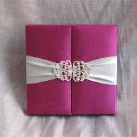 2015 new product & Glamorous royal wedding invitation boxes