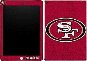 NFL San Francisco 49ers iPad Air 2 Skin - San Francisco 49ers Distressed Vinyl Decal Skin For Your iPad Air 2