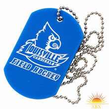 colored aluminum anodized qr code id dog tags for kids