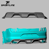 GT Carbon Fiber Rear Diffuser for Ford Mustang GT V8 2018 2019
