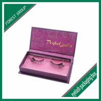full color printing eyelash packaging box customize the outside of the box with customer logo