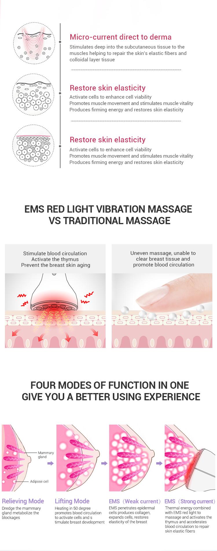 EMS 電気ポータブル十ユニット本体マッサージ機筋肉刺激装置