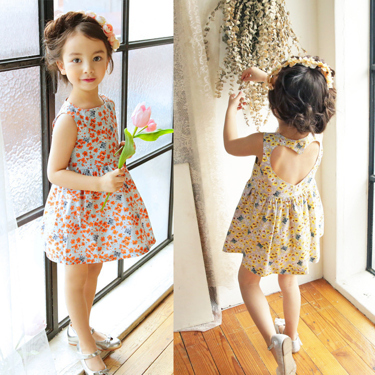 Made in China best price new design kids dress with quality